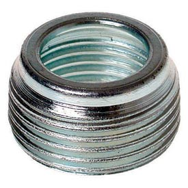"Hubbell 1141 Reducing Bushing 1/2"" To 3/8"" Trade Size - Pkg Qty 100"