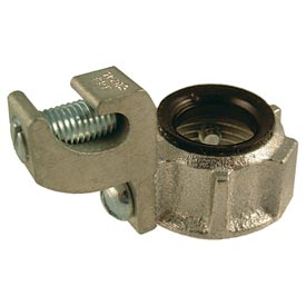 "Hubbell 1212 Grounding Bushing 1/2"" Trade Size, 150 Degree, #14 - #4 Lug - Pkg Qty 100"