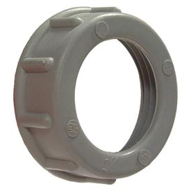 "Hubbell 1424 Plastic Bushing 6"" Trade Size - Pkg Qty 5"