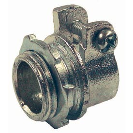 """Hubbell 2112 Squeeze Connector 3"""" Trade Size Flex - Pkg Qty 5"""