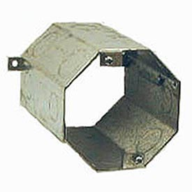 """Hubbell 275 Concrete Ring, 5"""" Deep, 1/2"""" & 3/4"""" Double Row Knockouts - Pkg Qty 10"""