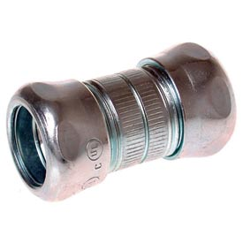 "Hubbell 2923 Emt Compression Coupling 3/4"" Trade Size - Steel - Pkg Qty 250"