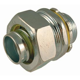 """Hubbell 3402 Straight Liquidtight Connector 1/2"""" Trade Size - Pkg Qty 200"""