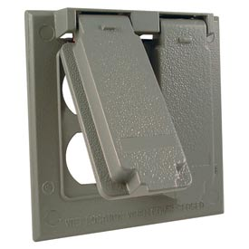 Hubbell 5132-0 Two Gang (2) Duplex Cover Device Mount - Pkg Qty 10