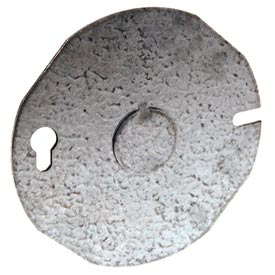 "Hubbell 703 Round Cover 3-1/2"" - Pkg Qty 25"
