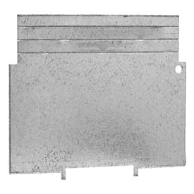 "Hubbell 707rac 4"" Square Bx Partition, For 2-1/8""D Bx, 1/4"", 1/2"", 3/4"" & 1"" Raised Cvr.s - Pkg Qty 25"