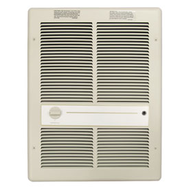 TPI Fan Forced Wall Heater F3317TRP - 4800W 208V Ivory