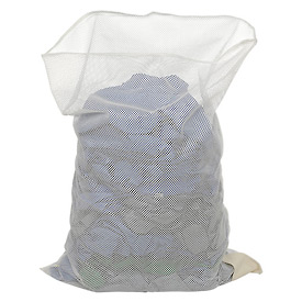Mesh Bag W/Out Closure, White, 18x24, Heavy Weight - Pkg Qty 12
