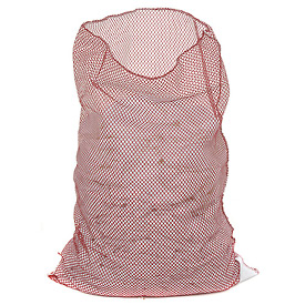 Mesh Bag W/Out Closure, Red, 18x24, Medium Weight - Pkg Qty 12