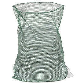 Mesh Bag W/Out Closure, Green, 30x40, Medium Weight - Pkg Qty 12