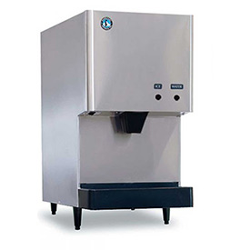 Hoshizaki Cubelet Ice Machine/Dispenser, Produces Up To 282 Lbs. Of Ice Per Day