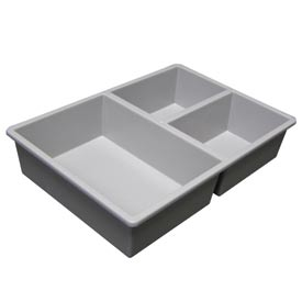 Tray Divider - One Large, Two Small Wide
