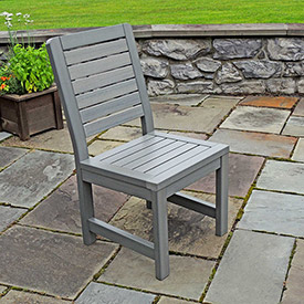 Outdoor furniture equipment outdoor chairs highwood Synthetic wood patio furniture