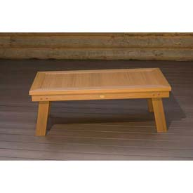 highwood® Pocono Deep Seating Patio Conversation Table - Weathered Acorn