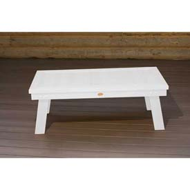 highwood® Pocono Deep Seating Patio Conversation Table - White