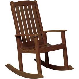 highwood® Lehigh Outdoor Rocking Chair - Weathered Acorn