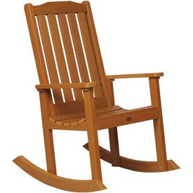 highwood® Lehigh Outdoor Rocking Chair - Toffee