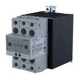 Carlo Gavazzi RGC3A60A25KKE Solid State Relay Contactor by