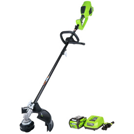 """GreenWorks 21362 G-MAX 14"""" 40V Cordless DigiPro String Trimmer, W/ Li-Ion Battery & Charger by"""