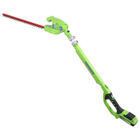 """GreenWorks 2200302 G-24 22"""" Cordless Hedge Trimmer, 24V, 5/8"""" Cut Capacity Tool Only by"""