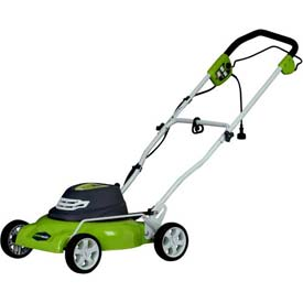 "GreenWorks™ 18"" 12A Corded 2-in-1 Mower, W/ 7 Cutting Heights"