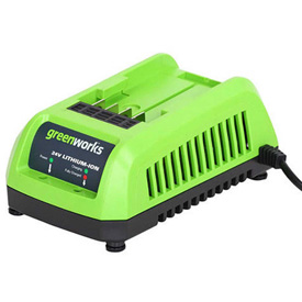 GreenWorks 29862 G-24 Lithium-Ion Battery Charger, 24V by