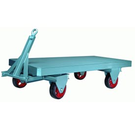 Hamilton® Steel Fifth Wheel Trailer 42 x 84 - Mold-on Rubber Wheels 6000 Lb. Cap.