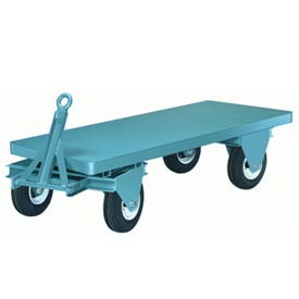 Hamilton® Steel Fifth Wheel Trailer 36 x 84 Mold-on Rubber Wheels 4500 Lb. Cap.