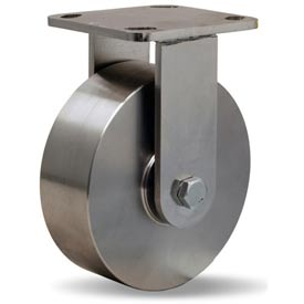 Hamilton Workhorse Stainless Rigid 6 x 2 Precision Ball 1200 Lb. Caster by