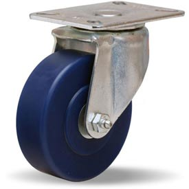 Hamilton® Hi-Lo Light Duty Swivel 4 x 1-1/4 Unilast® Roller 400 Lb. Caster