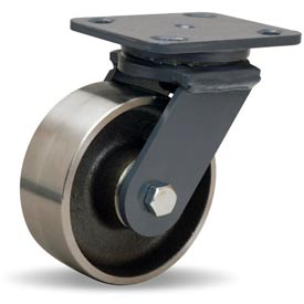 Hamilton® Workhorse Forged Swivel 5 x 2 Forged Roller 1500 Lb. Caster