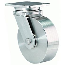 Hamilton Workhorse Stainless Swivel 6 x 2 Precision Ball 1200 Lb. Caster by