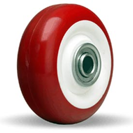 "Hamilton® Poly-Tech Wheel 3-1/2 x 1-3/8 - 3/8"" Ball Bearing"