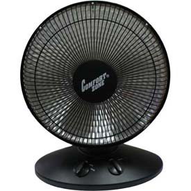 Click here to buy Comfort Zone Oscillating Parabolic Dish Radiant Heater CZ998 700/1000 Watt.