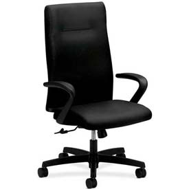 HON® - Executive Swivel Chair - Fabric - High Back - Black - Ignition Series
