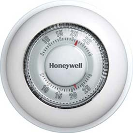 Honeywell The Round® Mercury Free Thermostat T87K1007, With Manual Changeover Rwy