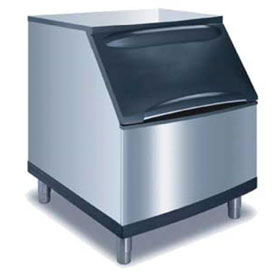 Manitowoc Ice B-400 Ice Bin, Stainless steel exterior, Top-hinged front opening access... by