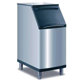 Manitowoc Ice B-420 Ice Bin, Stainless steel exterior, Top-hinged front opening access... by