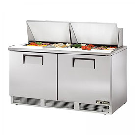 "True TFP-64-24M Refrigerated Sandwich/Salad Unit 64.13""W X 31-1/2""D X... by"