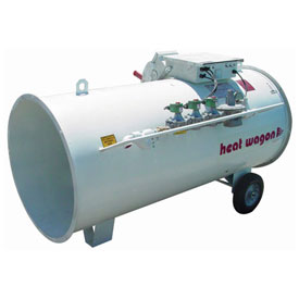 Heat Wagon Direct Fired Gas Heater 3050 3,500,000 BTU 208/240/480V Ductable by