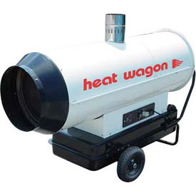Heat Wagon Oil Indirect Fired Heater HVF210 - 205K BTU, Ductable