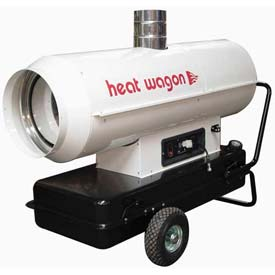 Heat Wagon Oil Indirect Fired Heater HVF310 - 300K BTU, Ductable