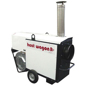 Heat Wagon Indirect Fired Oil Heater VF400 400,000 BTU 120V Ductable by