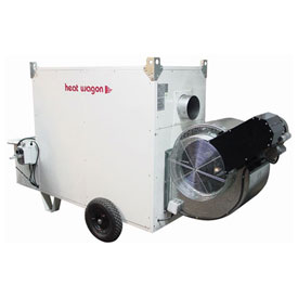 Heat Wagon Indirect Fired Oil Heater VF700C 700,000 BTU 240V Ductable by