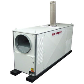 Heat Wagon Indirect Fired Gas Heater VG1000 1000,000 BTU 240V Ductable by