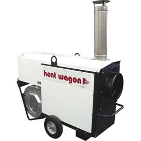 Heat Wagon Indirect Fired Dual Fuel Gas Heater VG400 400K BTU, 120V, Ductable by