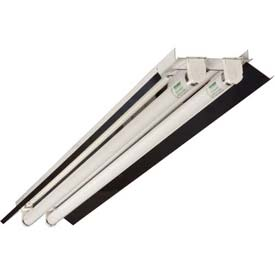 "Howard Lighting Retrofit Strip, FSR8, 8'L x 4-1/4""W, F32T8, 120-277V, 4 Lamps, Standard Ballast"