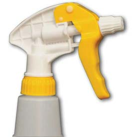 """Impact Chemical Resistant Trigger Sprayer 8-1/8"""", Yellow/White, 6008 Package Count 200 by"""
