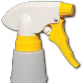"""Impact Chemical Resistant Trigger Sprayer 400 Thread Finish- 8-1/8"""", Yellow/White, 6019 Package Count 200 by"""