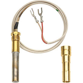 "Thermopile w/ PG9 Pilot Adaptor, Two Lead, 36"" Long"